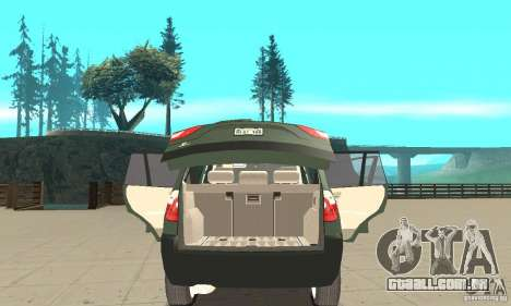BMW X3 2.5i 2003 para vista lateral GTA San Andreas