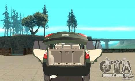 BMW X3 2.5i 2003 para vista lateral GTA San Andreas