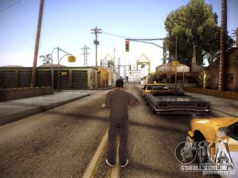 SA DirectX 1.1 Beta para GTA San Andreas por diante tela
