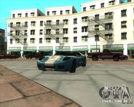 MOD de Jyrki para GTA San Andreas por diante tela
