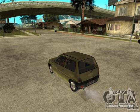 OKA 1111 Kamaz para GTA San Andreas esquerda vista