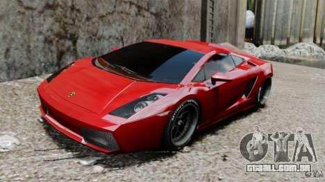 Lamborghini Gallardo Twin Turbo Kit para GTA 4