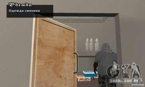 Assassinov capotas para GTA San Andreas por diante tela