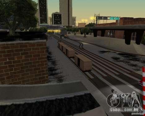 Nova estação ferroviária para GTA San Andreas segunda tela