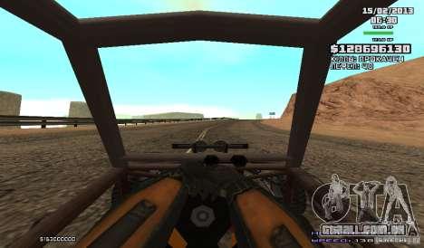 Gordon Freeman para GTA San Andreas por diante tela