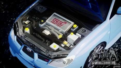 Subaru Impreza STI para GTA 4 vista direita