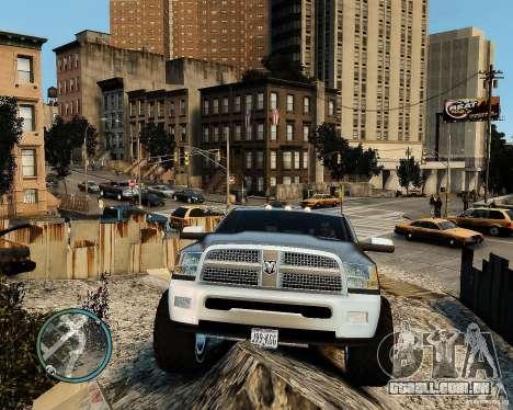 Dodge Ram 3500 Stock para GTA 4 vista de volta