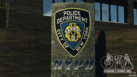 Remake second police station para GTA 4 por diante tela