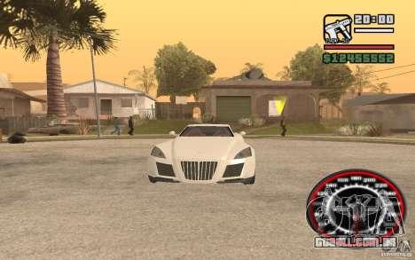 Maybach Exelero para GTA San Andreas vista direita