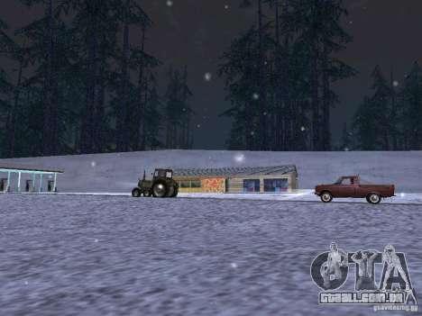 Neve para GTA San Andreas sexta tela