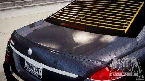 Mercedes-Benz S-Class W221 BRABUS SV12 para GTA 4 interior