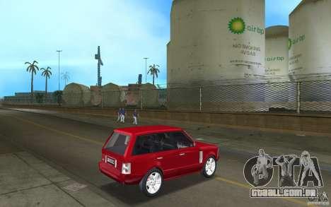 Range Rover Vogue 2003 para GTA Vice City vista direita