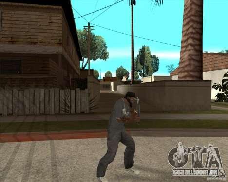 Rambo HD para GTA San Andreas terceira tela