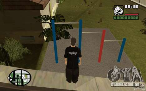 Barras horizontais para GTA San Andreas segunda tela