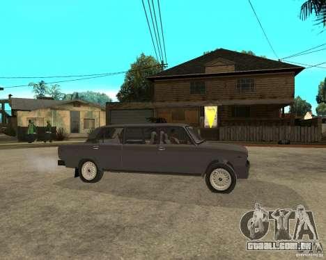 Limousine de 2105 VAZ para GTA San Andreas vista direita