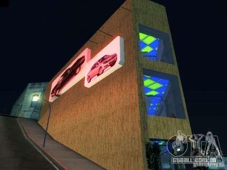 Novo showroom em San Fiero para GTA San Andreas segunda tela