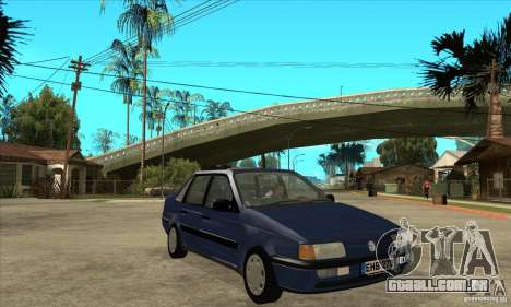 Volkswagen Passat B3 Stock para GTA San Andreas vista traseira