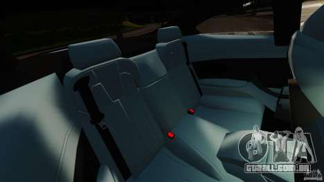 BMW M6 para GTA 4 vista lateral