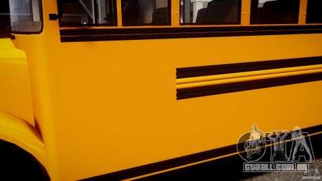 School Bus [Beta] para GTA 4 vista de volta