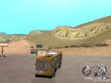 YUMZ T1 para GTA San Andreas vista interior
