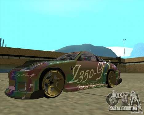 Nissan 350Z Fairlady para GTA San Andreas