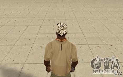 Letras de kitay bandana para GTA San Andreas terceira tela