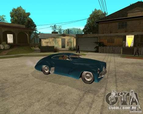 Holden Efijy para GTA San Andreas vista direita