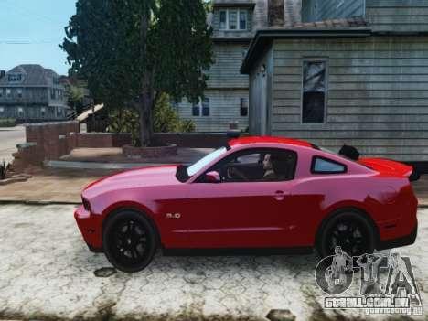Ford Mustang GT 2011 para GTA 4 esquerda vista