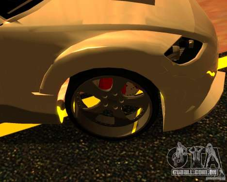 Mazda RX8 para GTA San Andreas vista direita