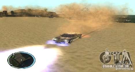 Xenon v4 para GTA San Andreas terceira tela