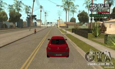 Conduziu a uma estrela vermelha-get para GTA San Andreas terceira tela