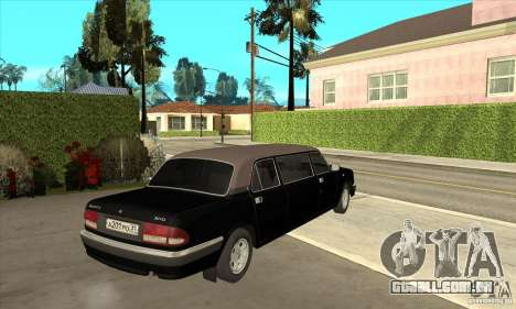 GAZ 3110 Sedan para GTA San Andreas vista direita