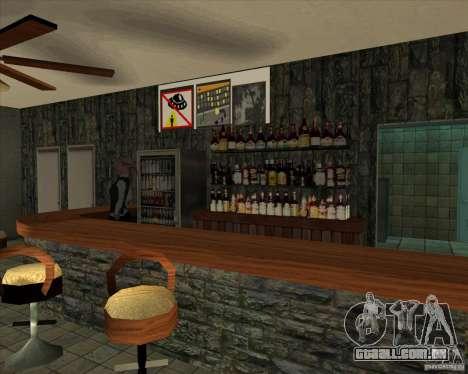 Novas amostras de Lil taverna para GTA San Andreas por diante tela