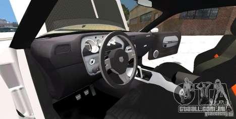 Dodge Challenger 2006 para GTA 4 vista lateral