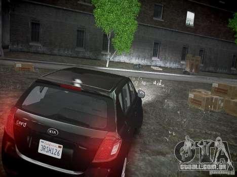 Kia Ceed para GTA 4 vista de volta
