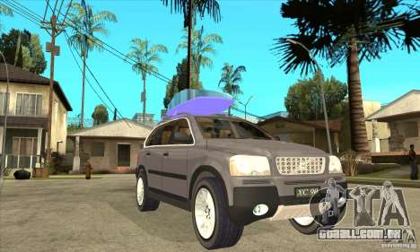 Volvo XC90 Sport para GTA San Andreas vista traseira