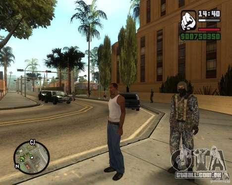 POLÍCIA russa para GTA San Andreas terceira tela