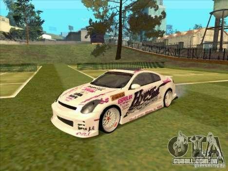 Infiniti G35 Top Secret para GTA San Andreas