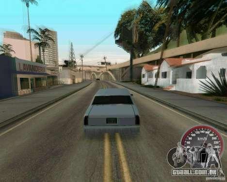 Velocímetro novo para GTA San Andreas