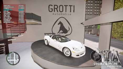 Car Shop Mod para GTA 4