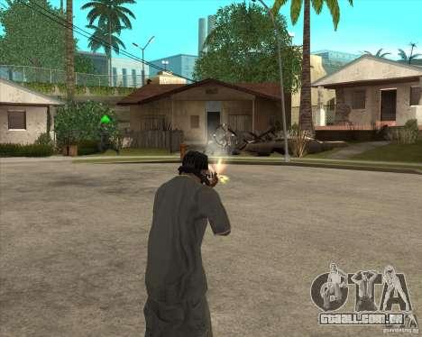 Gta IV weapon anims para GTA San Andreas segunda tela