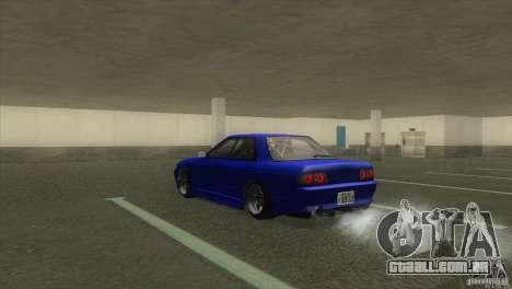 Nissan Skyline R32 GTS-T para GTA San Andreas esquerda vista