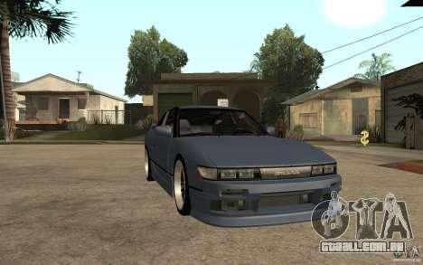 Nissan Silvia80 - EMzone Edition para GTA San Andreas vista traseira