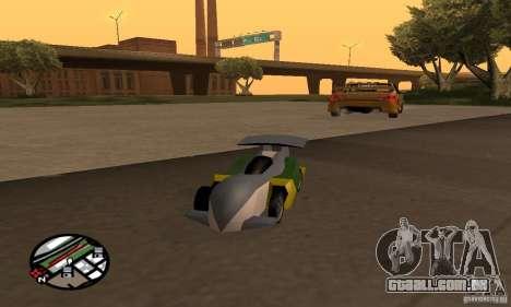 RC veículos para GTA San Andreas oitavo tela