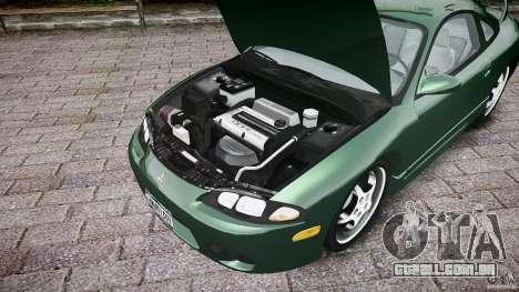 Mitsubishi Eclipse 1998 para GTA 4 vista de volta