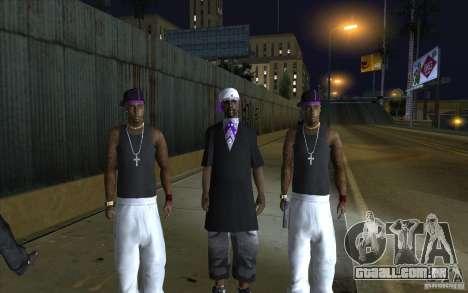 The Ballas Gang [CKIN PACK] para GTA San Andreas