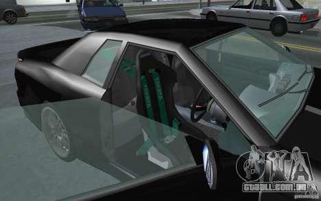 Elegy MS R32 para GTA San Andreas traseira esquerda vista