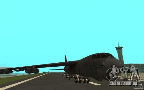 Boeing B-52 Stratofortress para GTA San Andreas