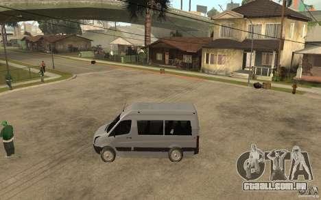 Volkswagen Crafter school bus para GTA San Andreas