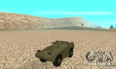 Pele BRDM-1 1 para GTA San Andreas esquerda vista